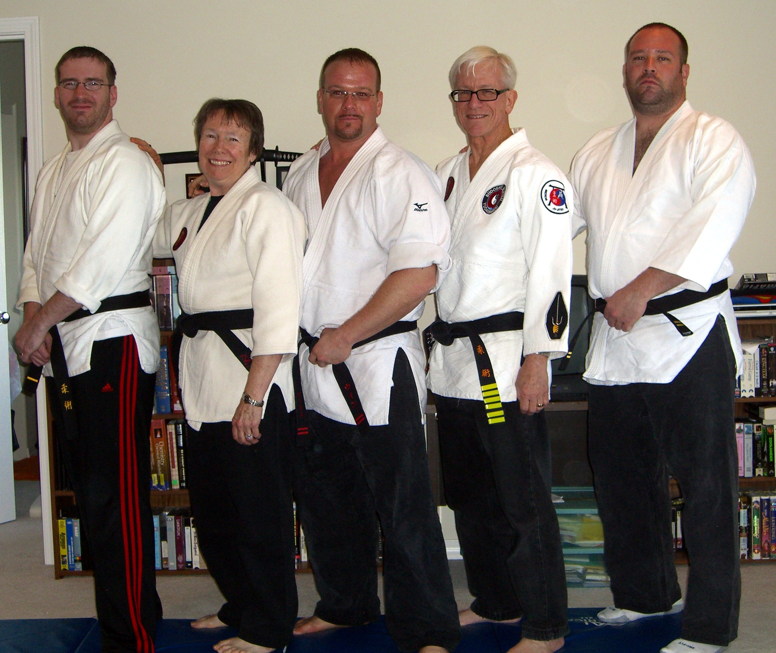 Wynn Family Black Belts