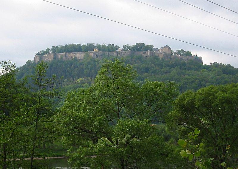 Koenigstein Castle, Saxony
