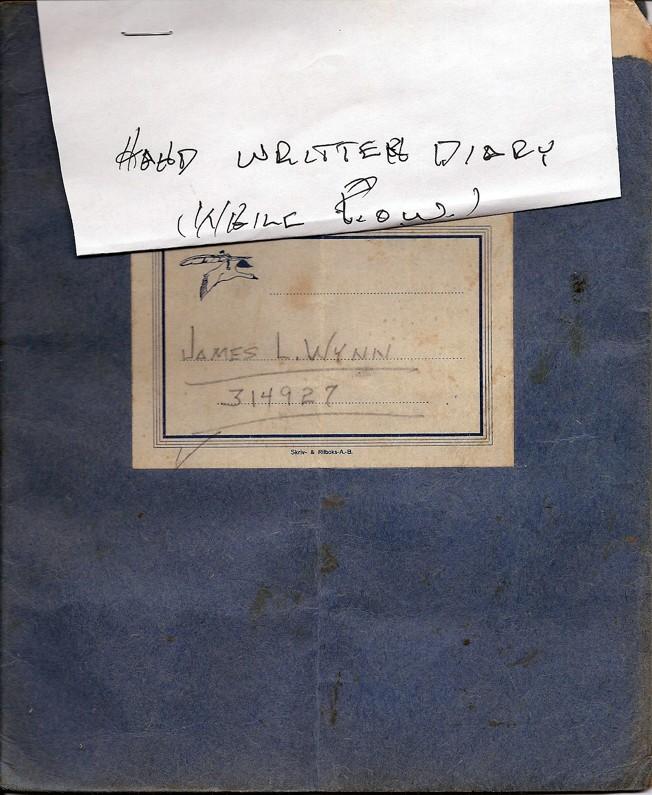 Diary Cover - James L. Wynn
