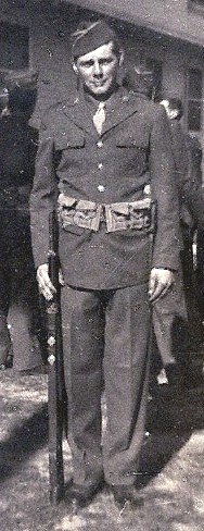James L. Wynn, upon graduation from bootcamp, June 1944.